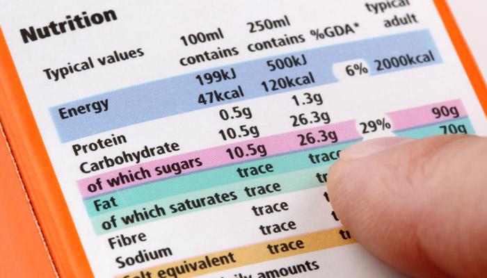 valeur nutri laboratoire phytocontrol